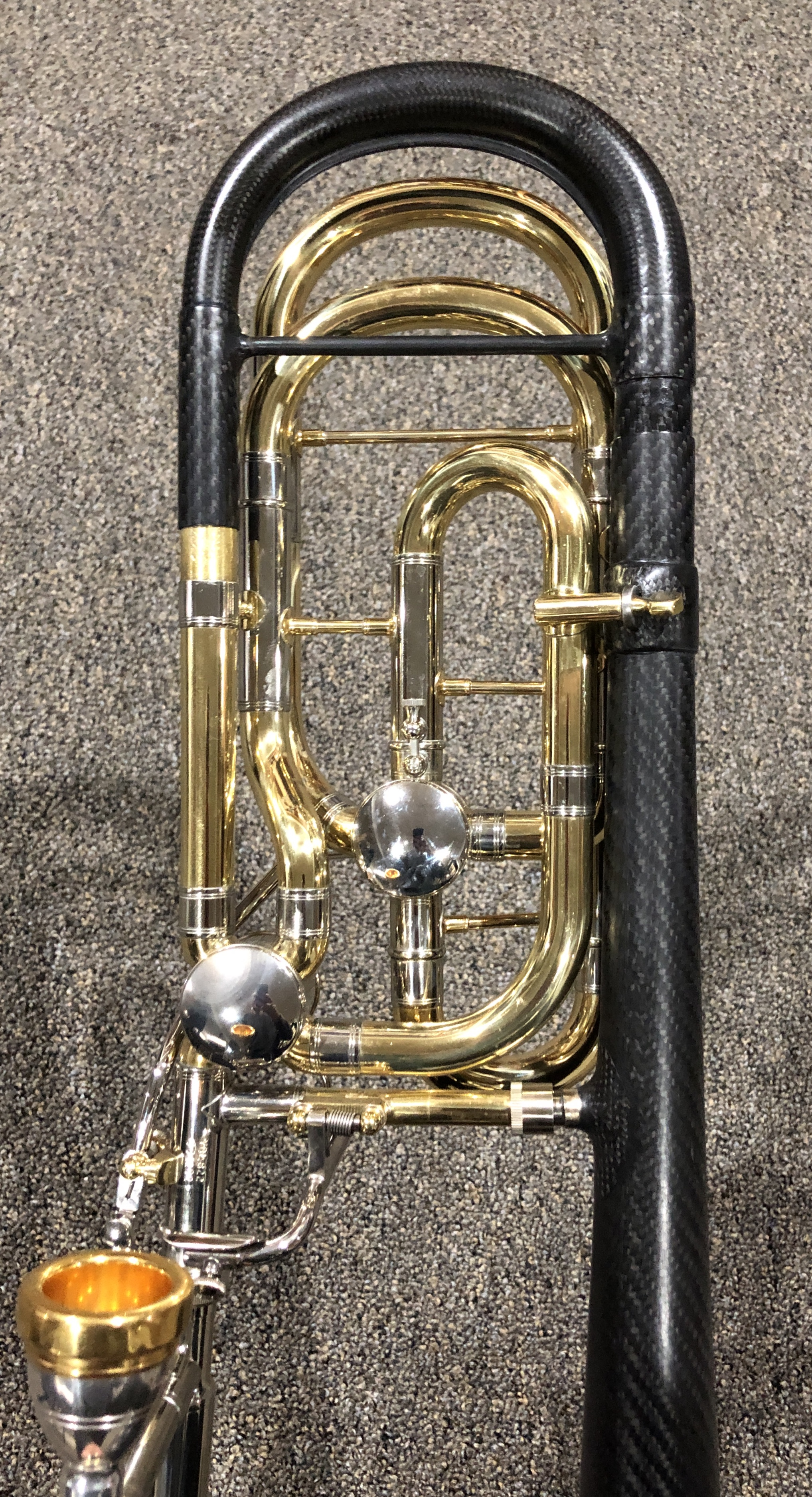 Custom carbon fiber modifications – Butler Trombones